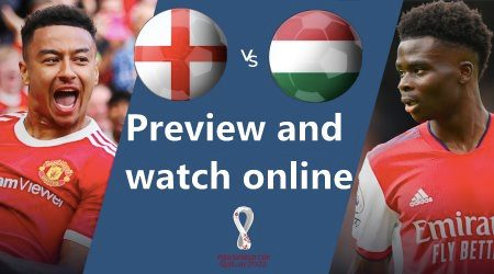 How to watch England vs Hungary World Cup qualifier online