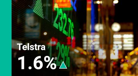 Why is the Telstra share price on a high today?