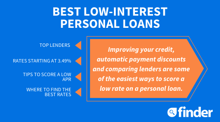 7 Best Low Interest Personal Loans You Can Apply For Today Finder