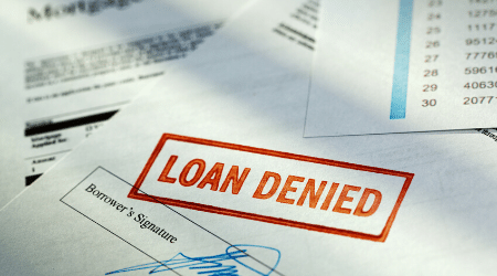 Why was my home loan application rejected?