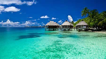 Dreamy places like Bora Bora