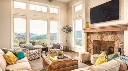 How much does it cost to renovate a living room?