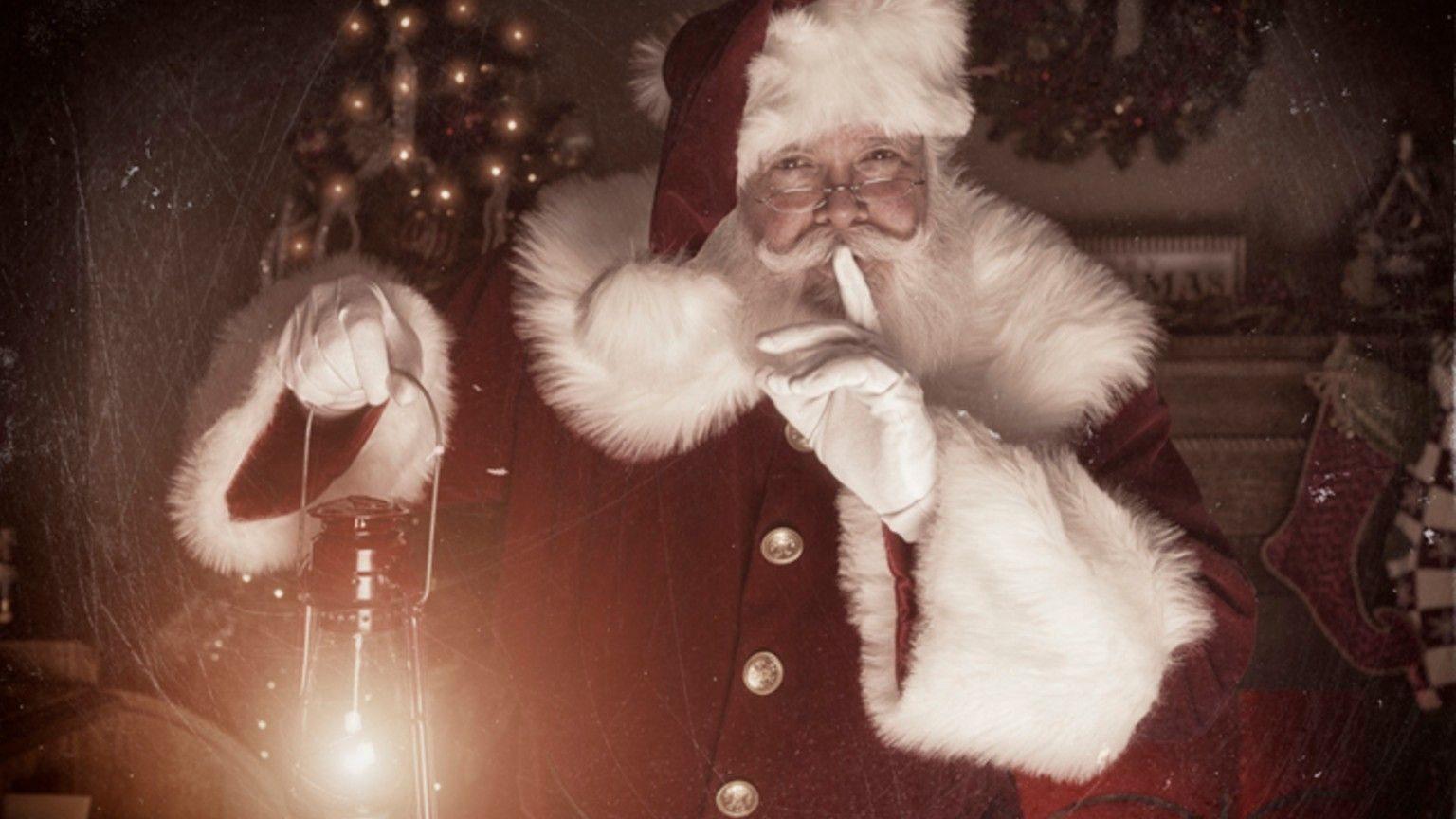 Santa shooshing