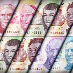 picture of different mexican peso bills denomination