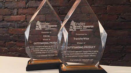 finder.com Money Transfer Awards 2017 Analysis