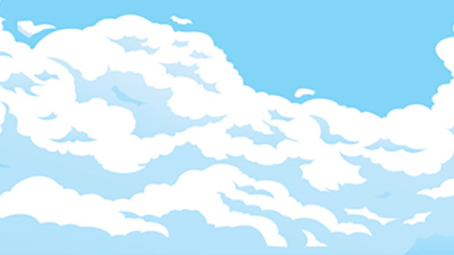 Comic clouds