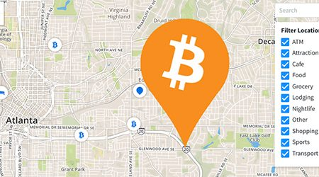 MAP: Find bitcoin ATMs and stores that accept BTC as payment in Atlanta