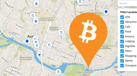 MAP: Find bitcoin ATMs and stores that accept BTC as payment in Austin