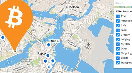 MAP: Find bitcoin ATMs and stores that accept BTC as payment in Boston