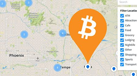 MAP: Find bitcoin ATMs and stores that accept BTC as payment in Phoenix