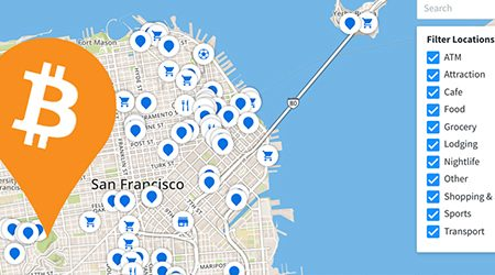 MAP: Find bitcoin ATMs and stores that accept BTC as payment in San Francisco
