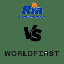 Ria vs worldfirst logos