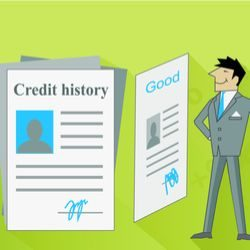 Credit history with man