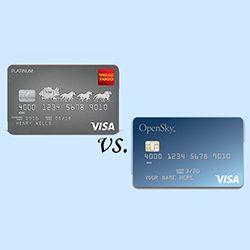 Wells Fargo vs. OpenSky – Secured credit cards compared finder.com