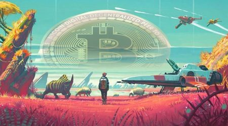 Two gamers start a bitcoin treasure hunt in No Man's Sky