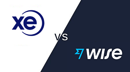 XE Money Transfer vs. Wise (TransferWise)