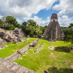 Mayan ruins at Tikal National Park