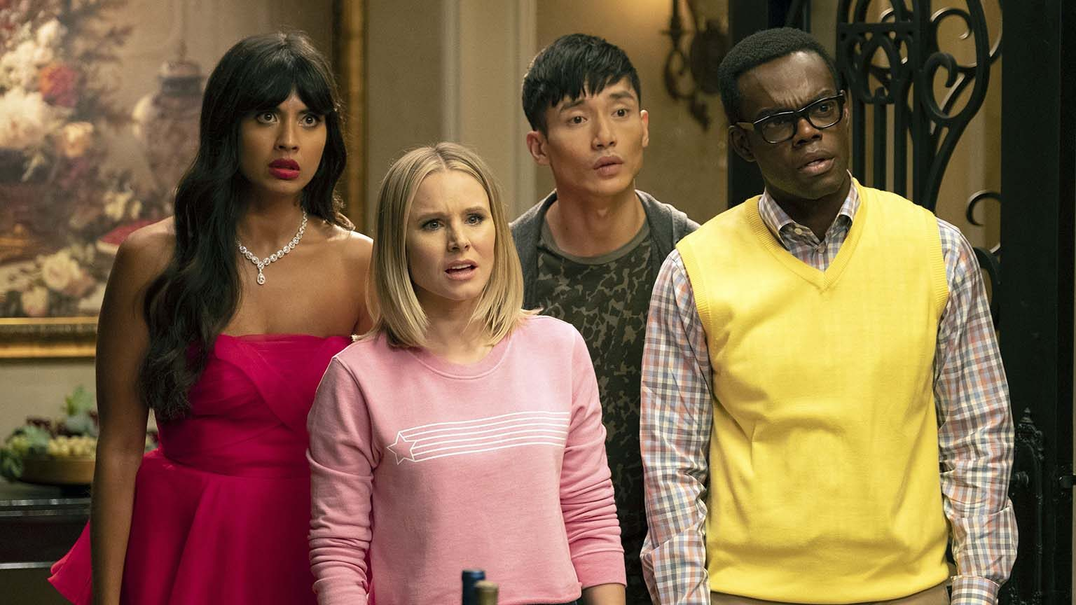 Screenshot from The Good Place