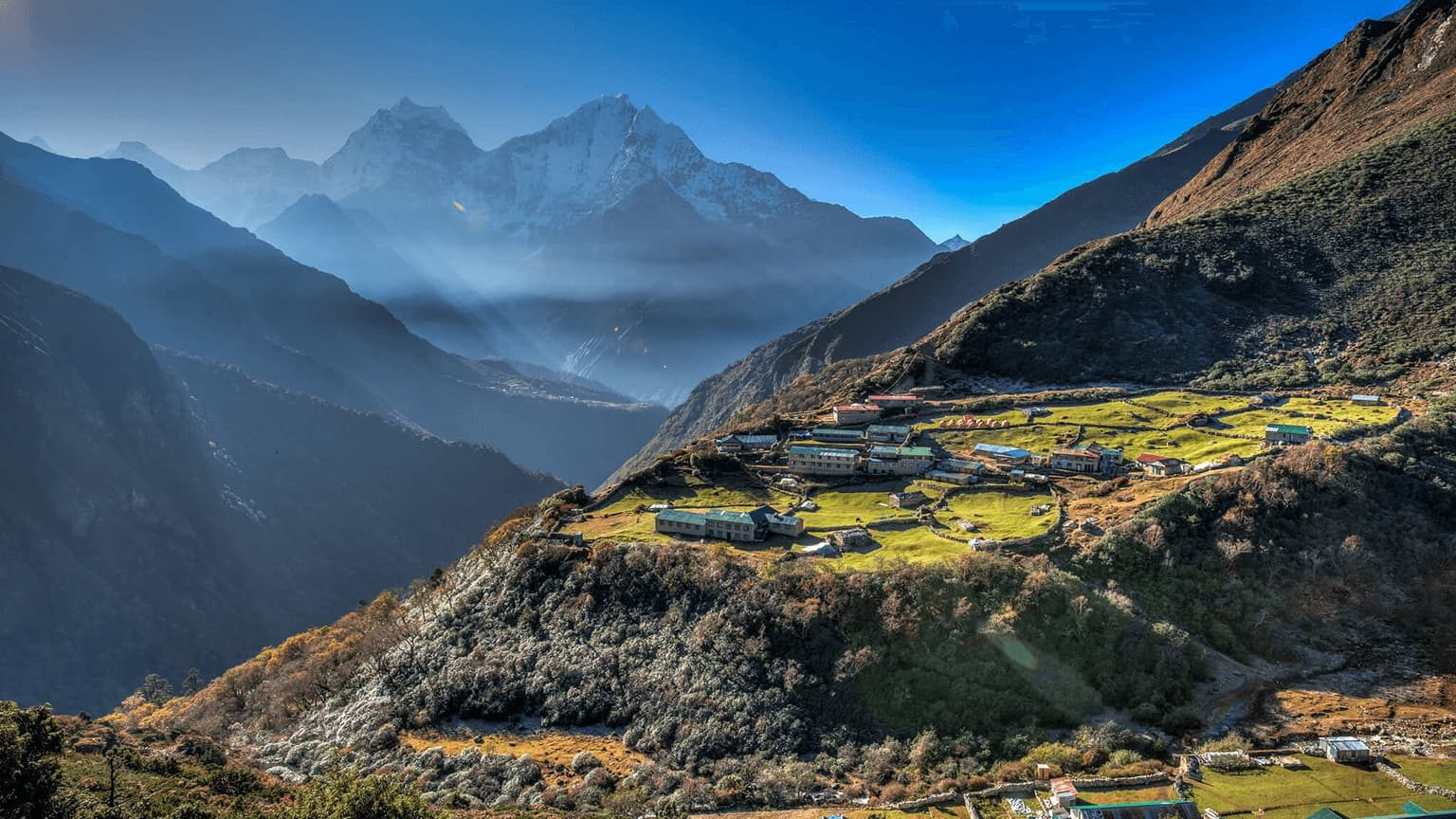 Himalayan Villages in Nepal