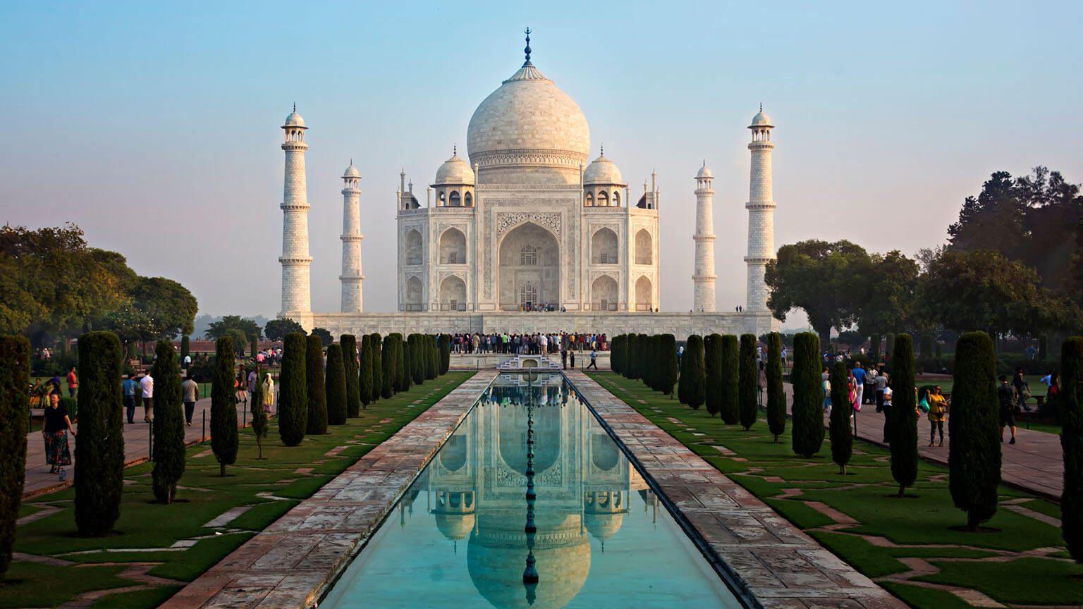 Taj Mahal in Agra,India
