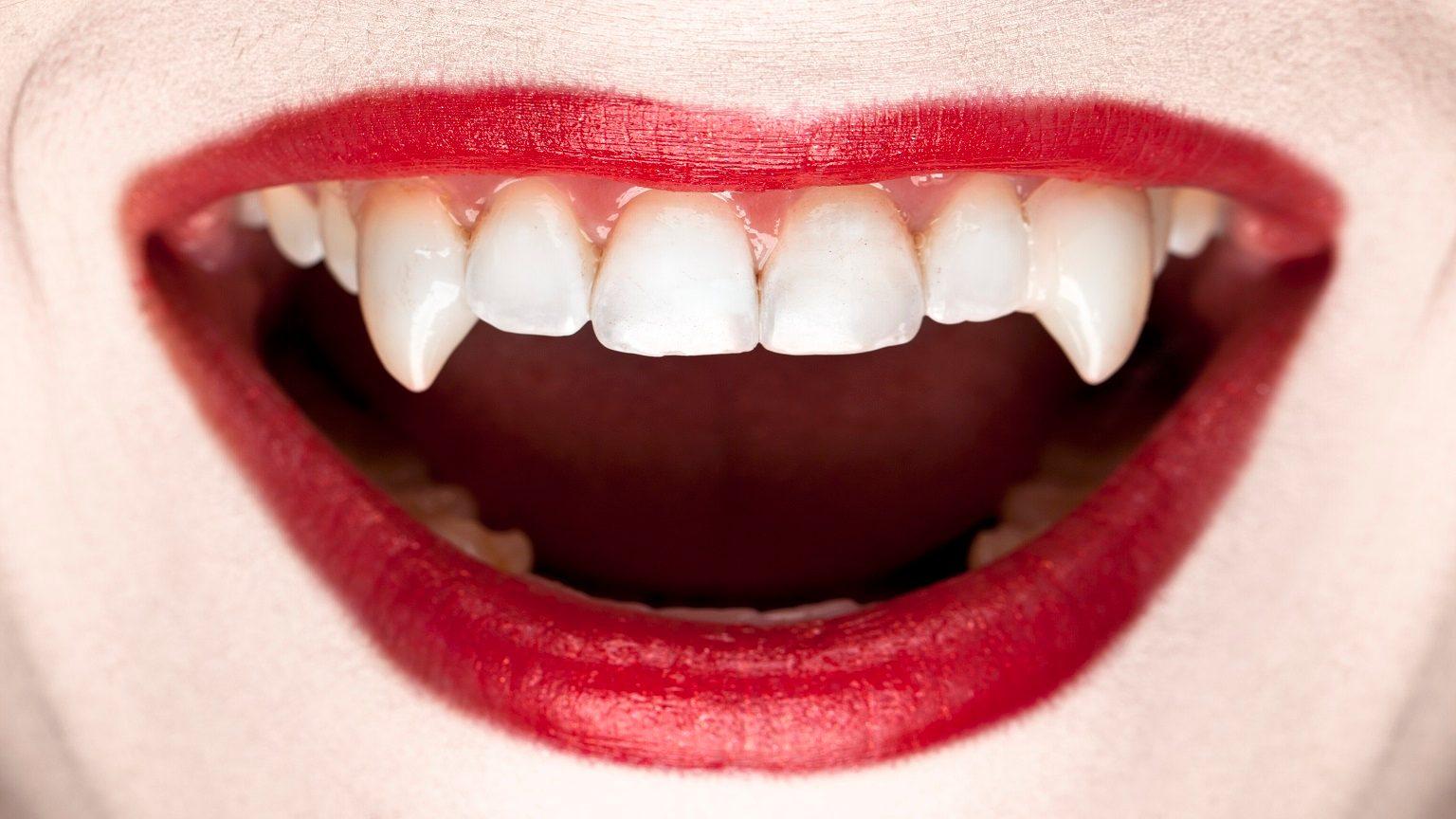 Female vampire fangs