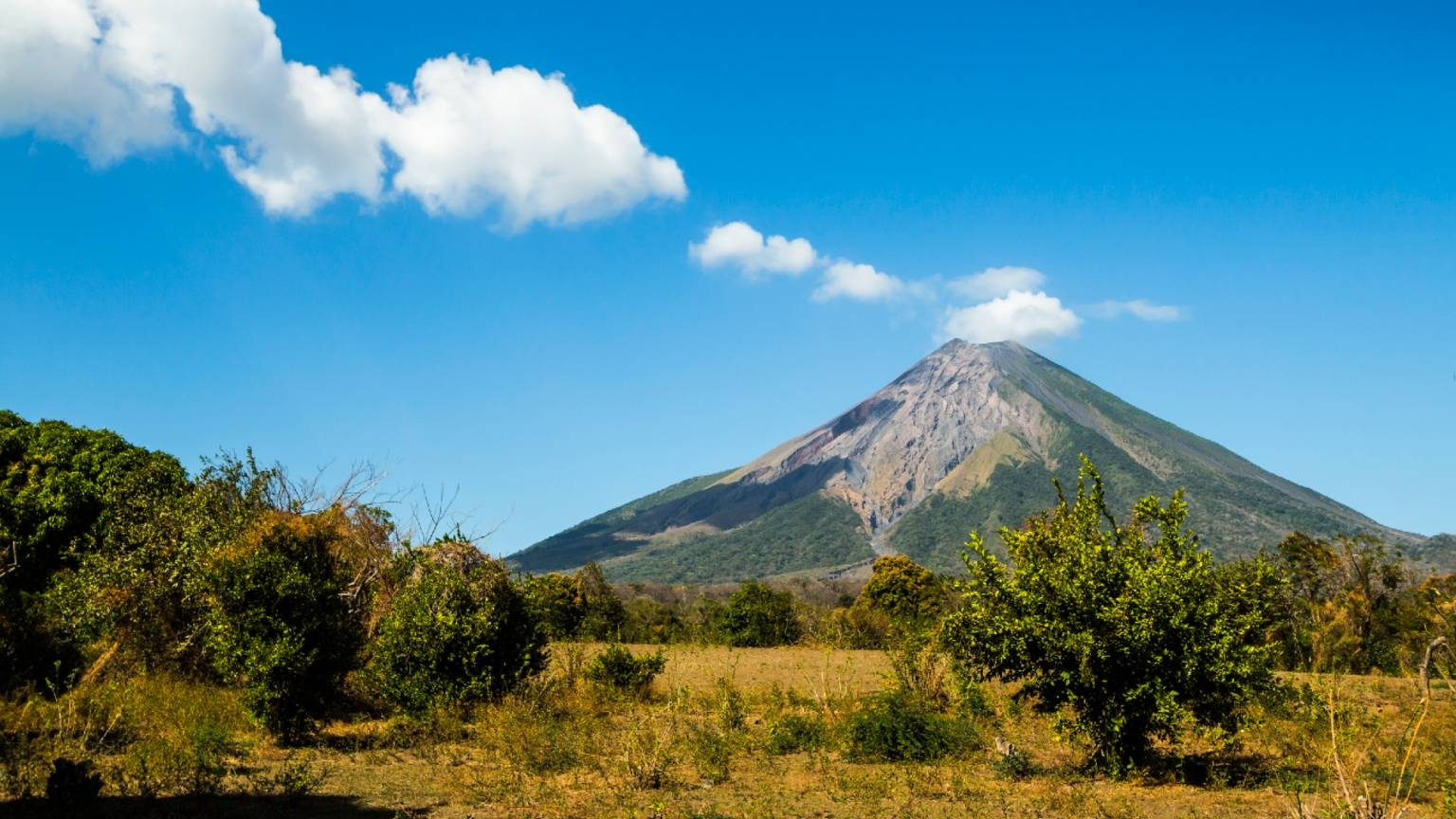Volcan Concepcion in Omotepe Island
