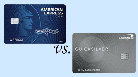 Amex Cash Magnet Card vs Quicksilver from Capital One finder.com