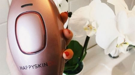 The Happy Skin Co IPL Laser Hair Removal Handset is a game-changer