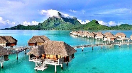 6 best overwater bungalows in Bora Bora