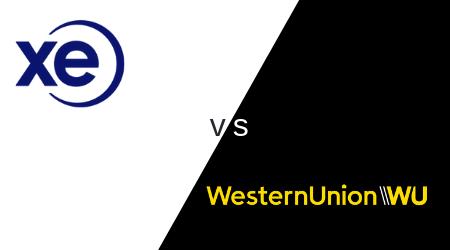 XE vs. Western Union