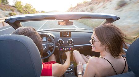 Compare rental car reimbursement coverage
