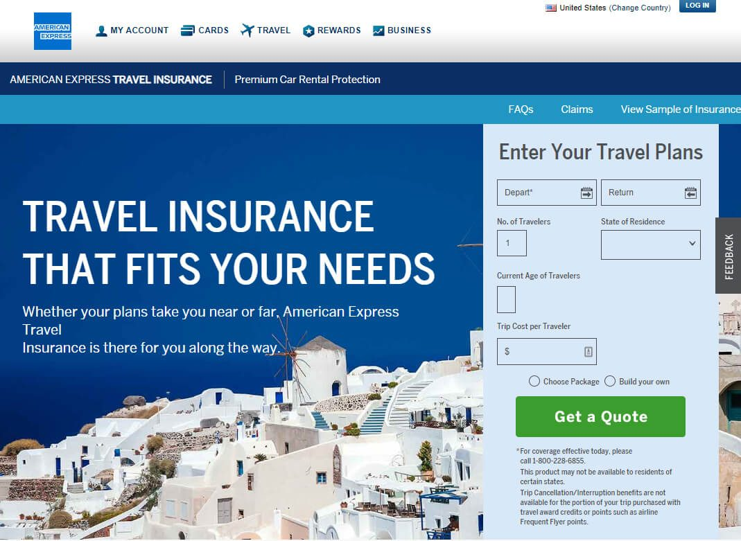 What does Amex travel medical insurance cover?   finder.com