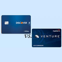 Discover it Miles vs. Capital One Venture  finder.com