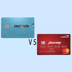 Discover it Student Cash Back vs. Journey Student Rewards  finder