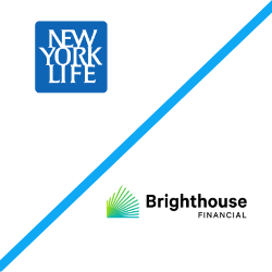 New York Life and Brighthouse logos