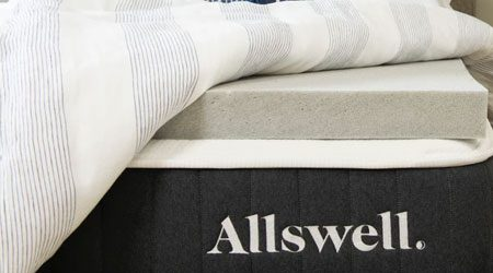 Allswell Cool Touch Mattress Topper review