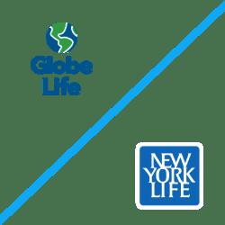Globe Life and New York Life logos