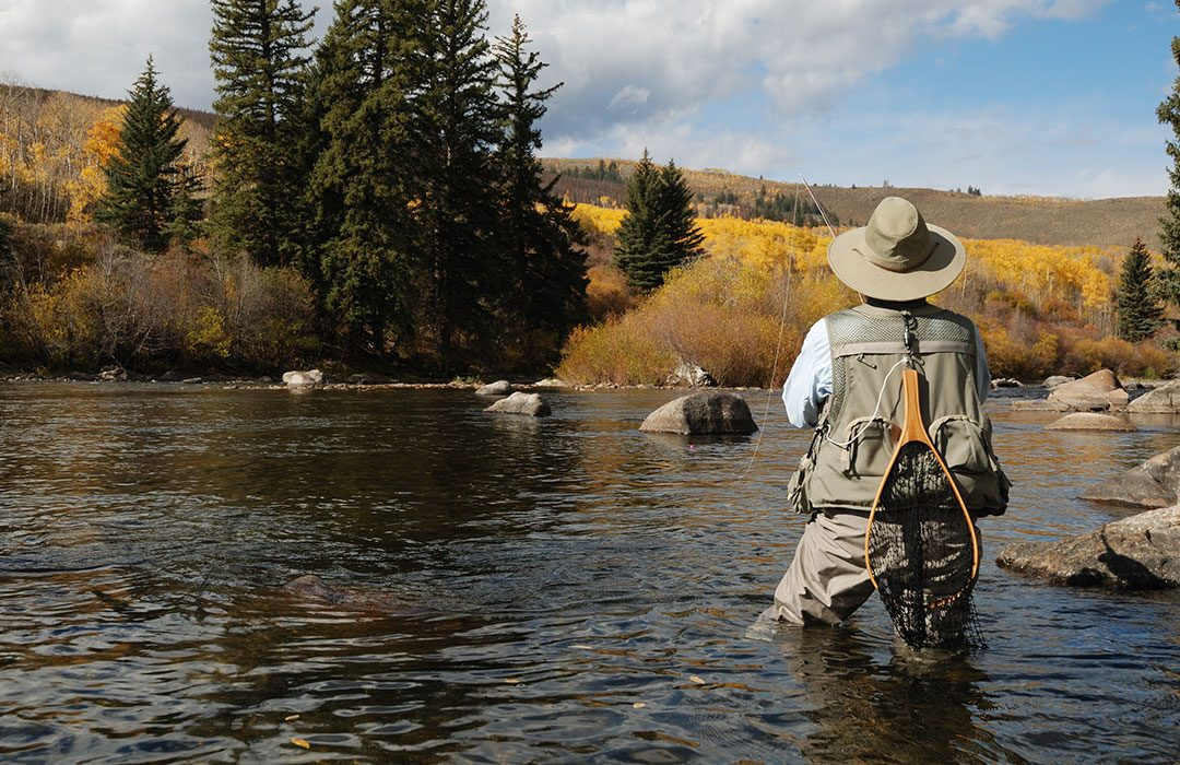 Fly Fishing In Waders