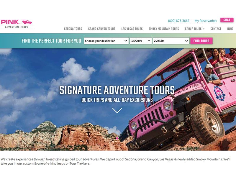 Pink Jeep Tours promo codes for January 2021 | finder.com