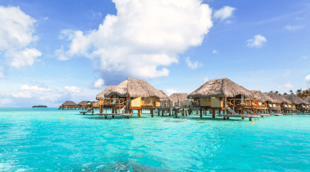 8 best overwater bungalows in the Caribbean