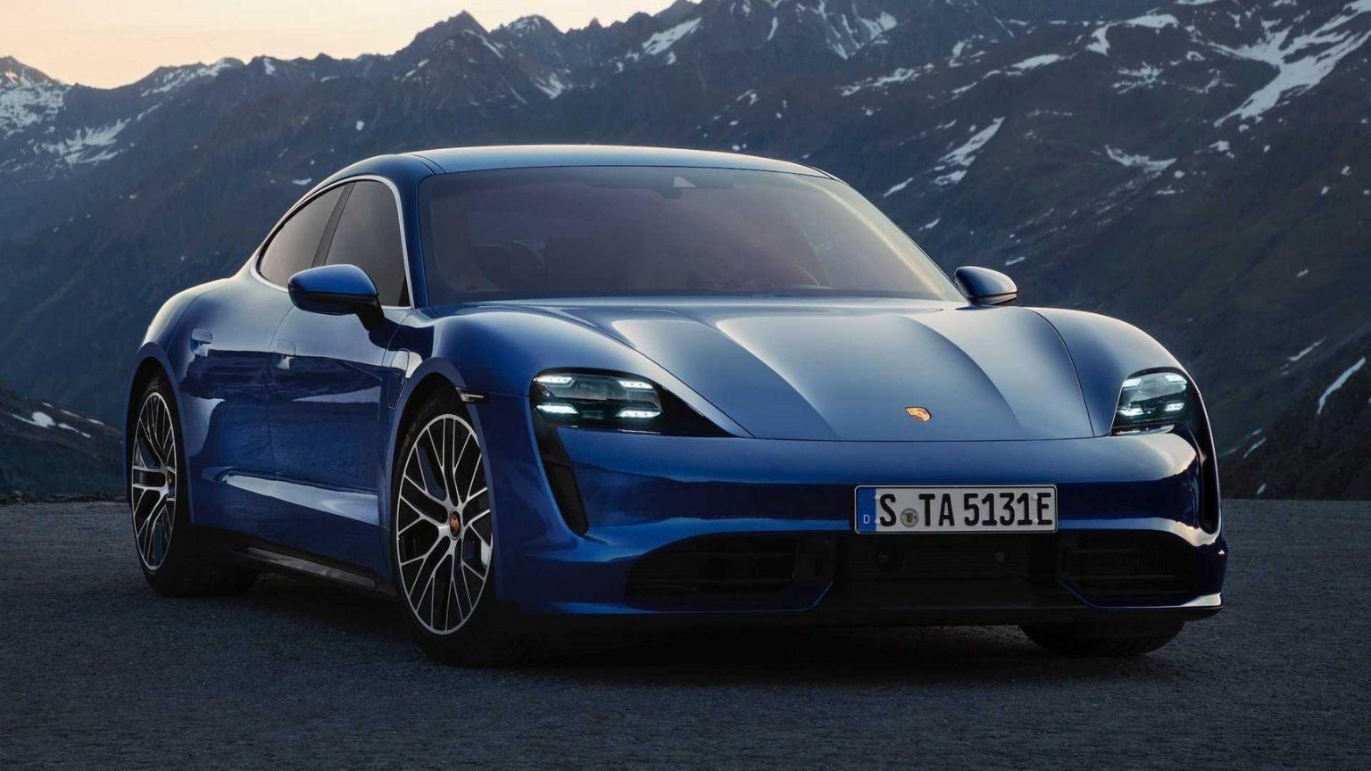 2020 Porsche Taycan car