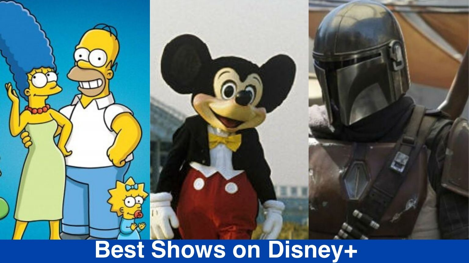 Best Disney+ Shows: The Simpsons, Mickey Mouse and the Mandalorian