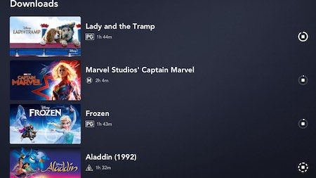 How to watch Disney+ TV shows and movies offline on tablets and smartphones