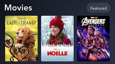 List of movies available on Disney+ in the US