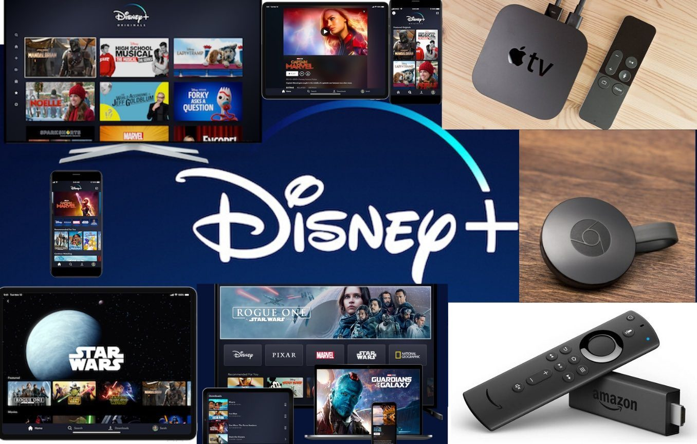 Disney+ list of compatible devices