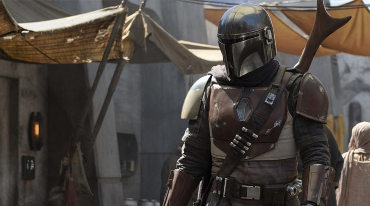 Image of the Mandalorian main character