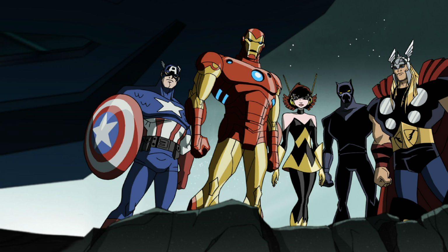 Best Disney+ action shows - Avengers cartoon