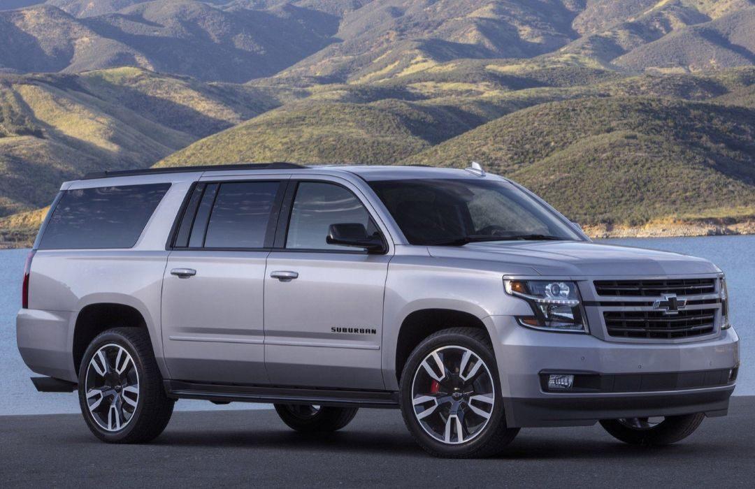Grey Chevrolet Suburban