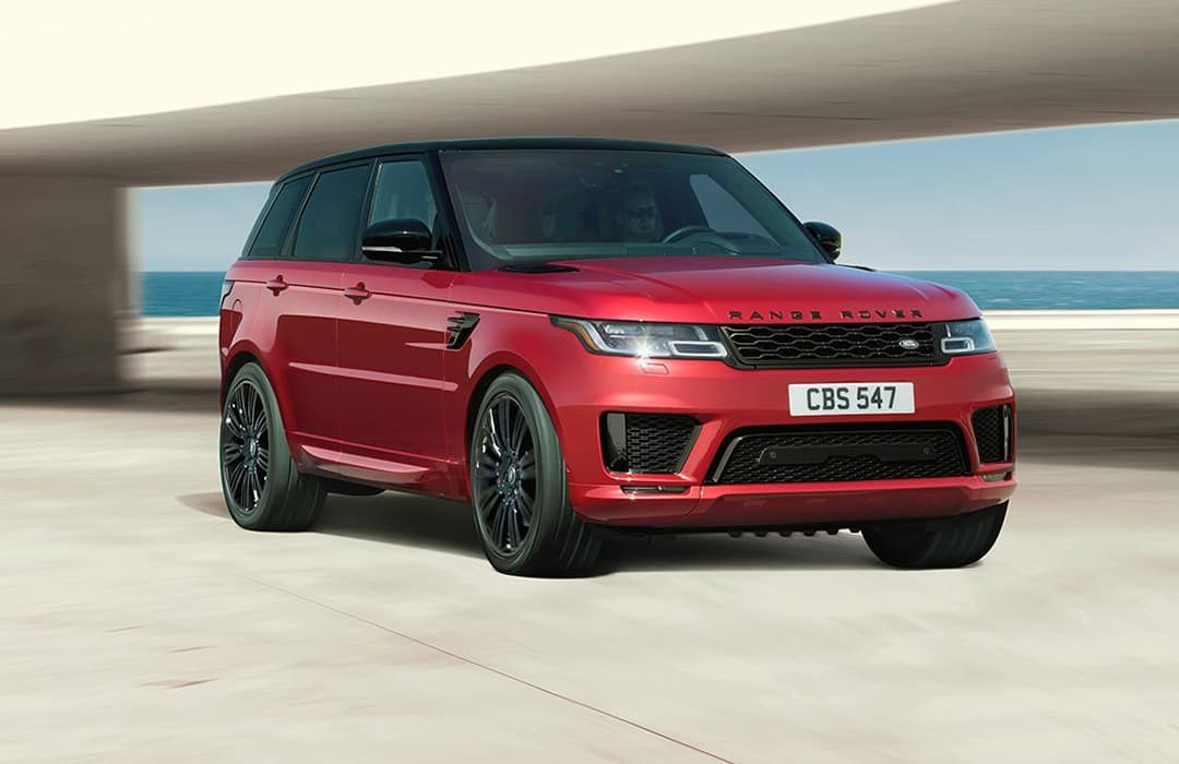 Land Rover Range Rover Sport 2019 red car