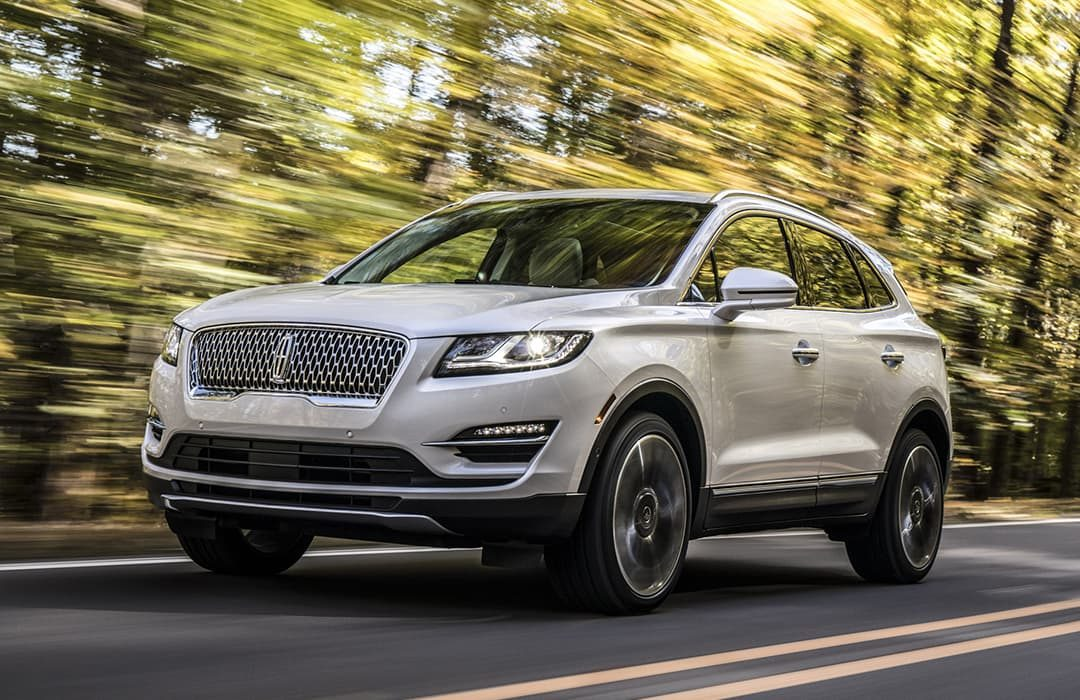 Lincoln MKC 2019 white car